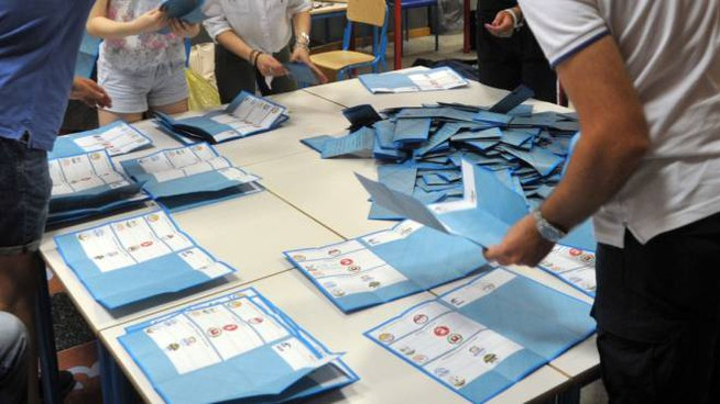 Elezioni comunali 2018, si è votato anche ad Adria (foto archivio Newpress)