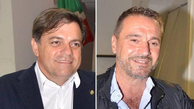 Giovannetti (a sinistra) e Neri