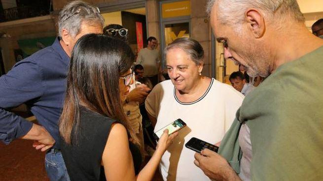 Il sindaco uscente Valeria Mancinelli andrà al ballottaggio con Tombolini (foto Emma)