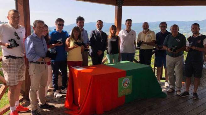 I premiati della Ubi Banca Golf Cup