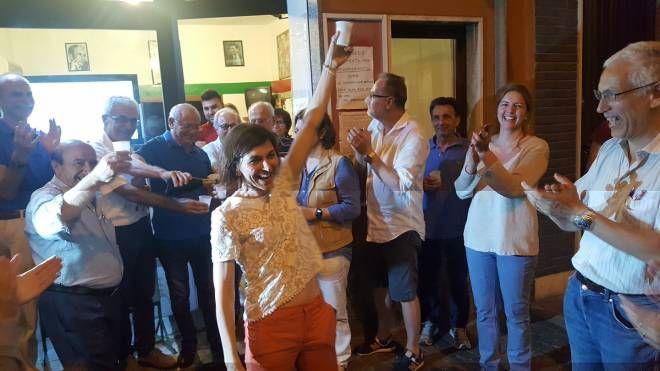 I festeggiamenti per Michela Palestra