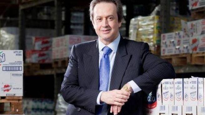 Angelo Mastrolia, presidente di Newlat e proprietario dello stabilimento di Sansepolcro