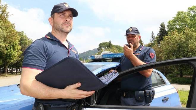 Il ladro è stato arrestato dagli agenti della volante