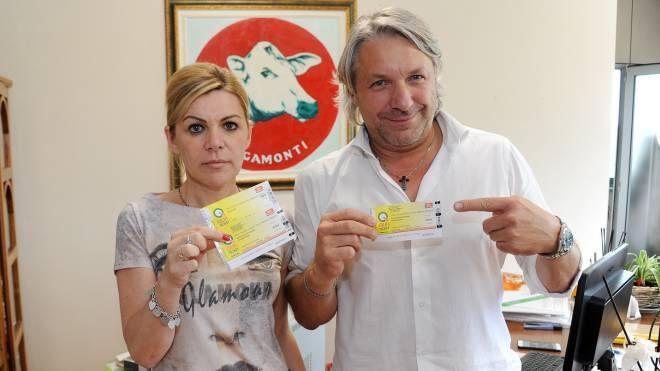 I titolari del centro carni Rigamonti di Parabiago