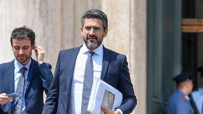 Governo, il ministro Riccardo Fraccaro (Lapresse)