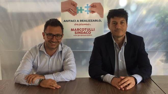 Giorgio Marcotulli e Alessandro Felicioni