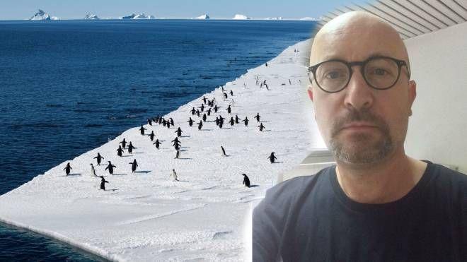 Il professor Giorgio Spada dell'Università di Urbino e l'Antartide