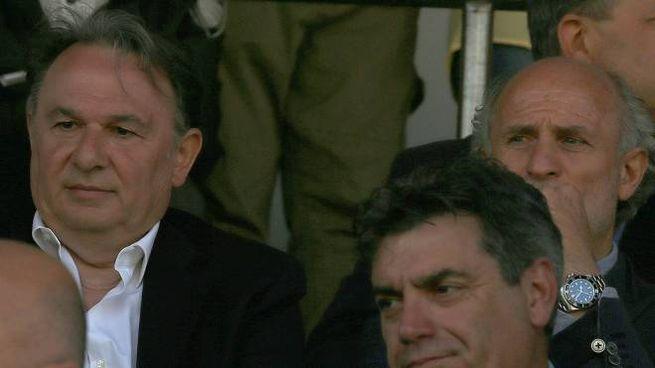 Il presidente Claudio Gabellini e il sindaco Massimo Seri (Fotoprint)