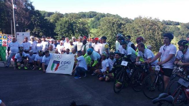 La pedalata della solidarietà per Rigopiano