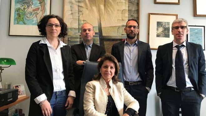 Piera Brandani e i suoi collaboratori – Beghelli & Partners e Archimede