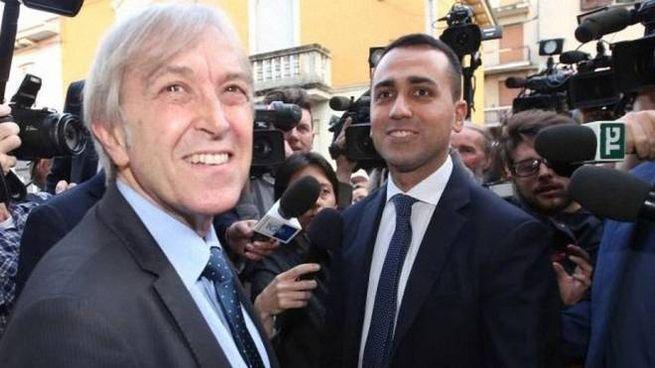 Sergio Bramini con Luigi Di Maio