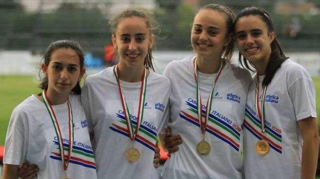 Lisa Galluccio, Clarissa Boleso, Alessia Gatti e Veronica Besana