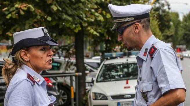 Polizia municipale Firenze (foto Germogli)