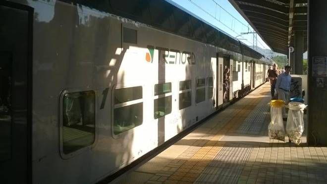 Un treno della Milano - Lecco