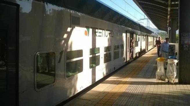 Un treno della Milano-Lecco