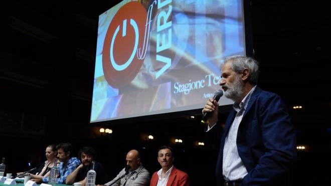 La presentazione del cartellone del Verdi (foto New Pressphoto)