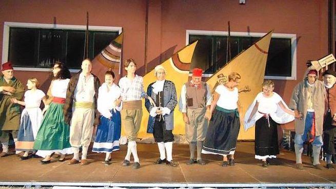 Sul palco Il Piccolo teatro città di Chioggia
