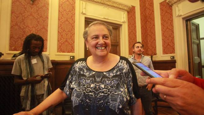 Valeria Mancinelli riconfermata sindaco di Ancona (foto Antic)