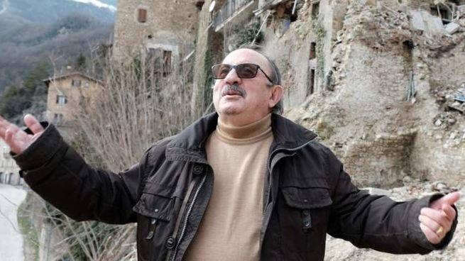 Il sindaco di Arquata, Aleandro Petrucci