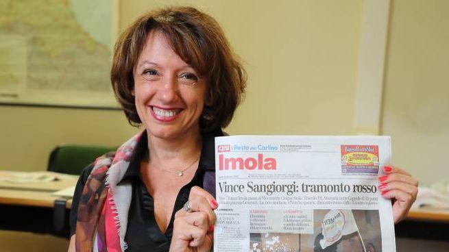 La festa di Manuela Sangiorgi, primo sindaco non di sinistra di Imola