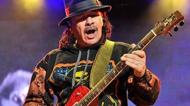 Il messicano Carlos Santana
