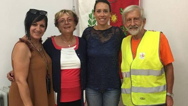 Patrizia Campacci, Liviana Zanetti, Marianna Tonellato e Pino Bacchilega
