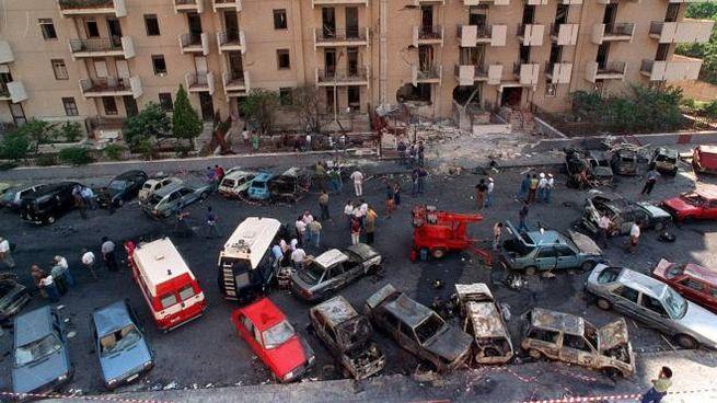 Strage di via d'Amelio: nel '92 uccisi Borsellino e 5 agenti di scorta (Ansa)