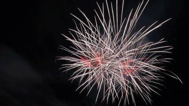 Fuochi d'artificio al Bagno degli Americani