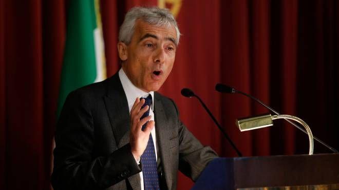 Il presidente dell'Inps Tito Boeri alla Camera (Lapresse)