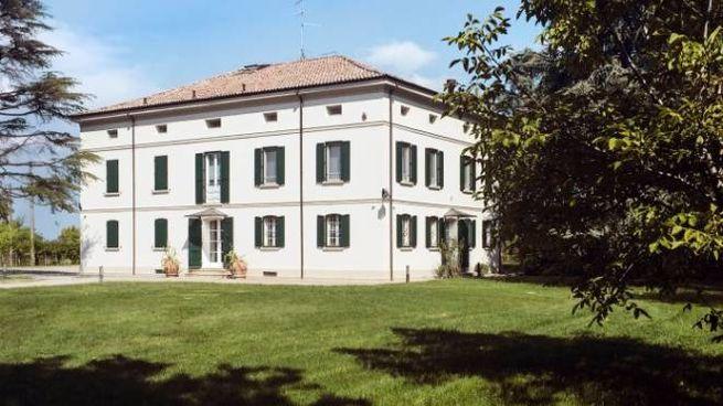 Villa Capriolo ad Albinea, sede di Home For Photography