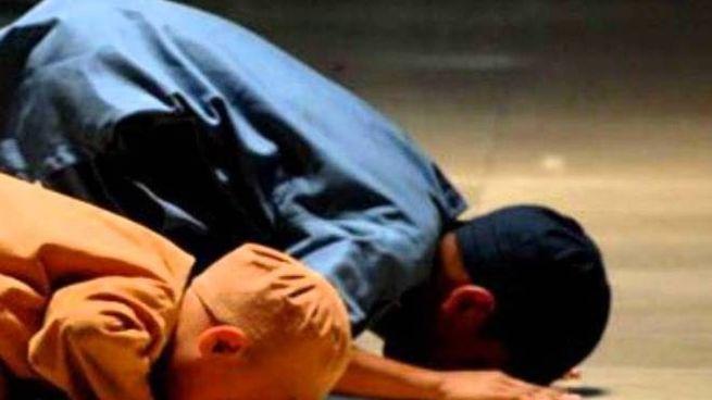 Un momento di preghiera