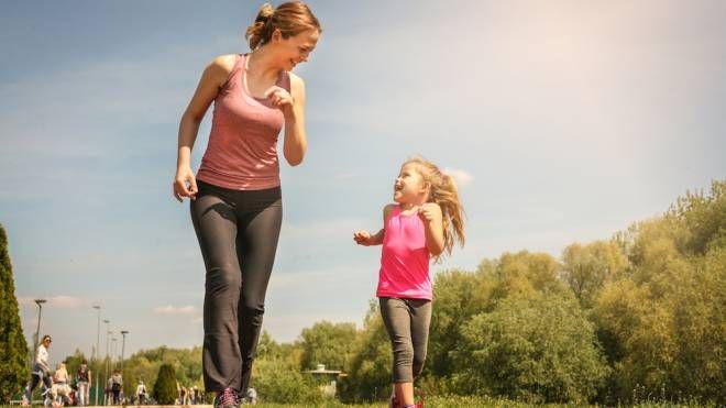 La vita sana della mamma influisce su quella dei figli - foto liderina istock