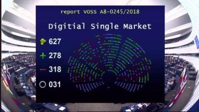La votazione del Parlamento europeo sulla direttiva