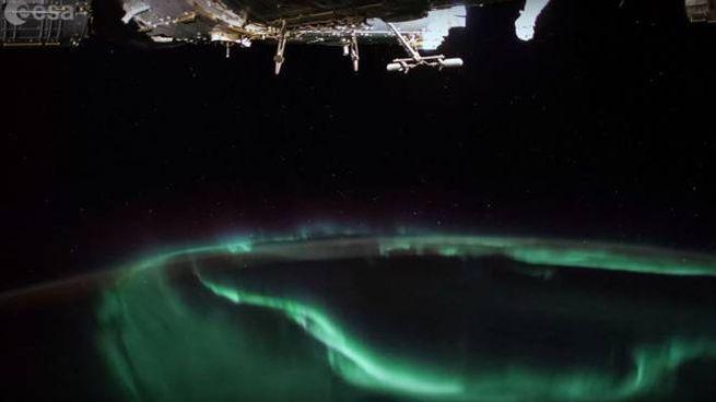 Uno screenshot del video di Alexander Gerst – Foto: canale YouTube dell'ESA