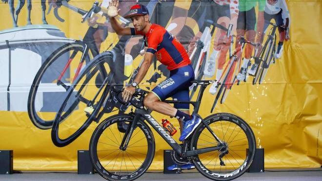 Tour de France 2018, Vincenzo Nibali alla presentazione (Ansa)