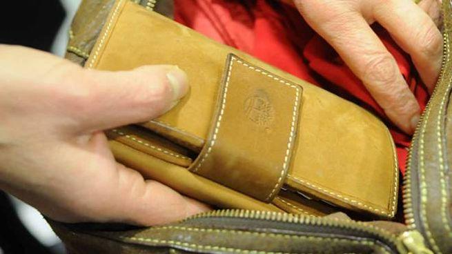 Furto di portafoglio (foto di archivio)