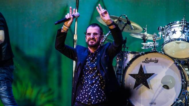 Ringo Starr al Summer Festival (Foto Alcide)