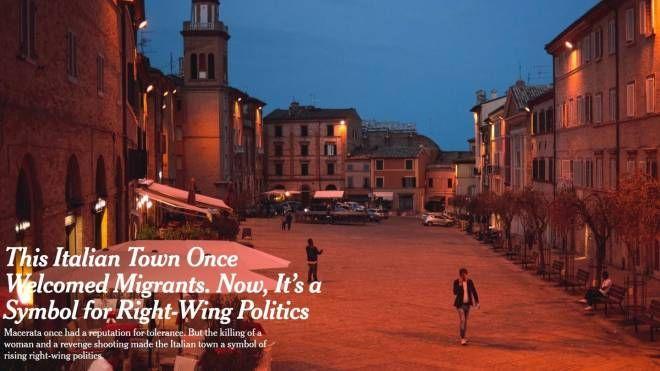 L'articolo del prestigioso quotidiano americano sulla città