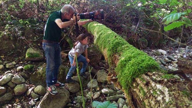Francesco Barberini, 11 anni, nell'oasi di Vanzago