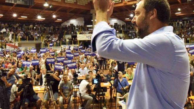 Matteo Salvini al Palasport