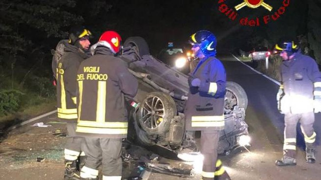 incidente a Casteldelpiano
