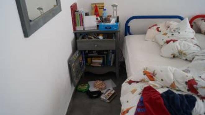 Una stanza visitata dai ladri