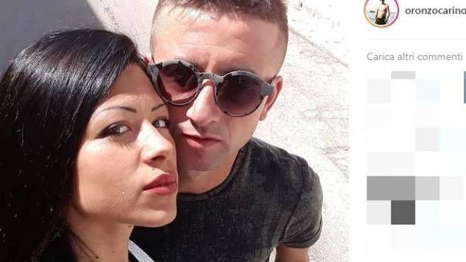 Oronzo e Valentina in una foto su Instagram