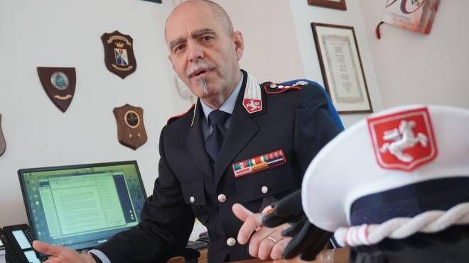 Il comandante della polizia municipale, Sergio Bedessi. Concorso per assumere due nuovi ispettori