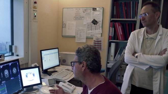 Un'immagine d'archivio di una risonanza magnetica
