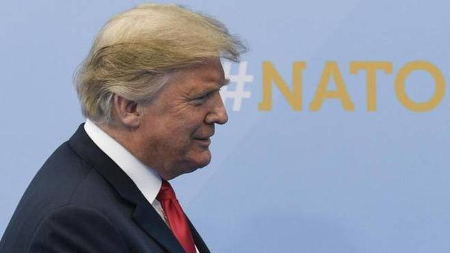 Donald Trump al vertice Nato (Ansa)