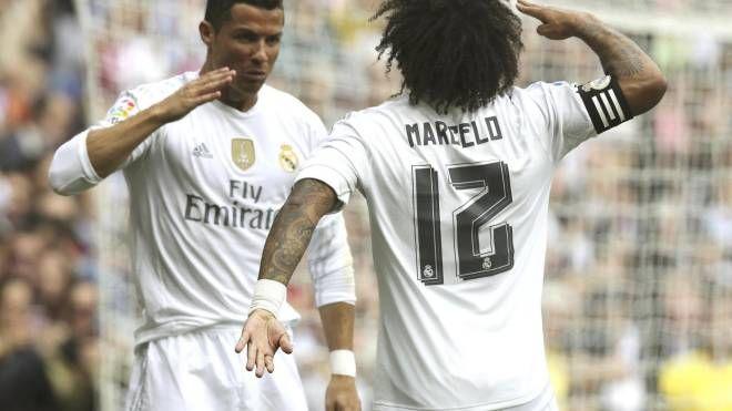 Marcelo insieme a Ronaldo: i roritrovarsi alla Juve