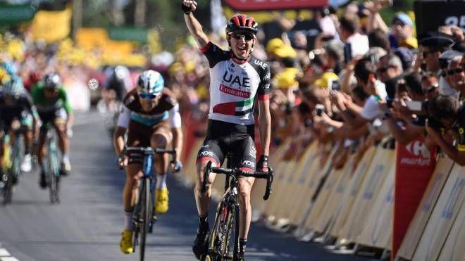 Daniel Martin vince la tappa 6 del Tour de France 2018 (LaPresse)