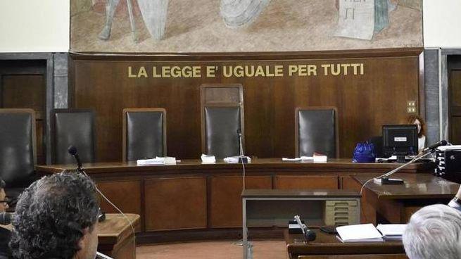Tribunale in un'immagine di repertorio