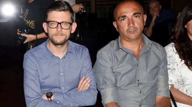 STAFF Coach Andrea Bonacina e il ds Alessandro Pasi (Foto Bp)